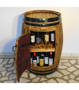 Wine barrel table-bar 017