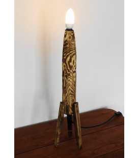 Wood decorative table light 215