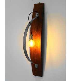 Wood and metal wall light 226