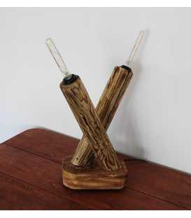 Wood decorative table light 233
