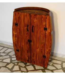Ντουλάπι από ξύλινο βαρέλι κρασιού 021