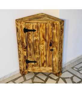 Γωνιακό ντουλάπι από ξύλα παλέτας 036