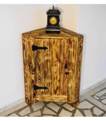 Γωνιακό ντουλάπι από ξύλα παλέτας