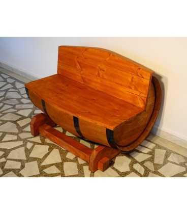 Καναπές από ξύλινο βαρέλι κρασιού