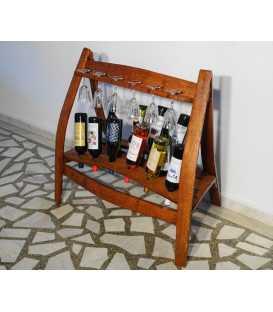 Ξύλινη κάβα κρασιών