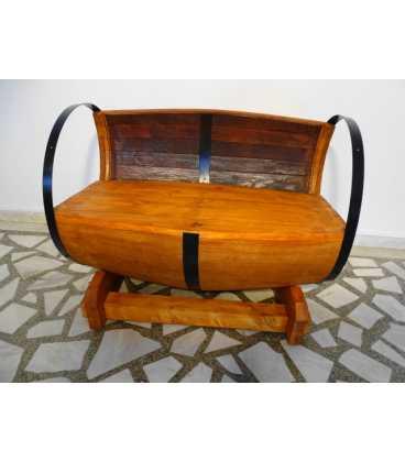 Wine barrel sofa