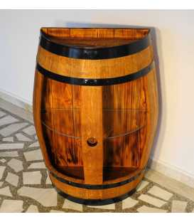 Wine barrel table-bar 056