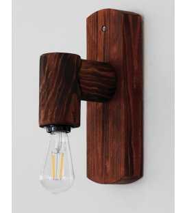 Holz Wandleuchter 122