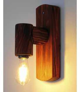 Wooden wall light 122
