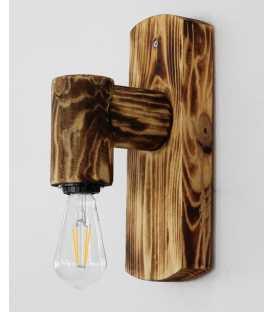 Wooden wall light 123